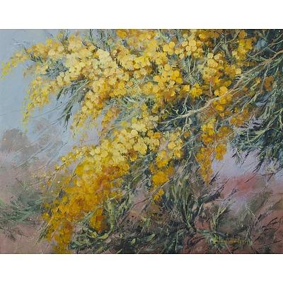 HUDSON Helen (1938-2005), 'Golden Wattle'