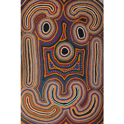 NAPANANGKA Nancy Tax (Aboriginal c.1940-2004), Untitled, 2000