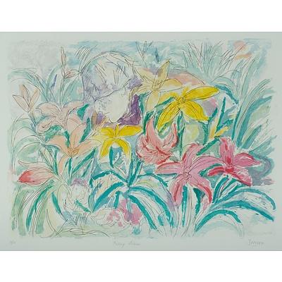 ZOFREA Salvatore (Born 1946), 'Picking Liliums'