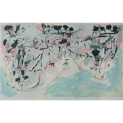RANKIN David (Born 1946), 'Beach, Bay & Rocky Ridge', 1987