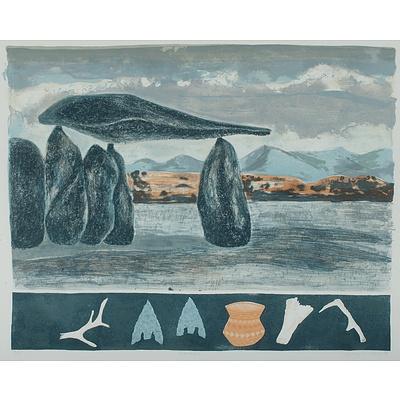 DUXBURY Lesley (Born 1950), 'Gromlech I', 1984