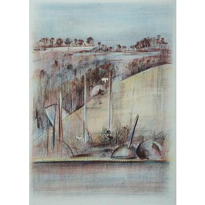 BOYD Jamie (Born 1948), Birds Over The Shoalhaven
