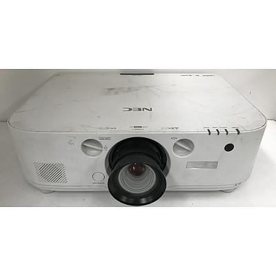 NEC PA672W WXGA DLP Projector