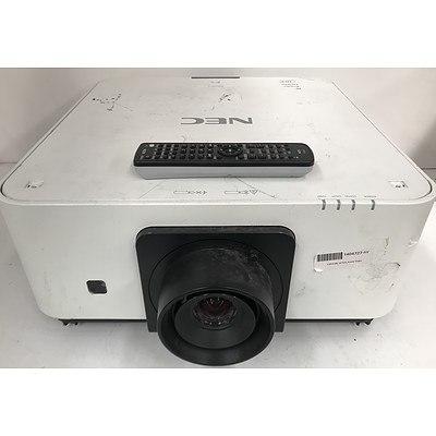 NEC PX602UL WUXGA DLP Projector
