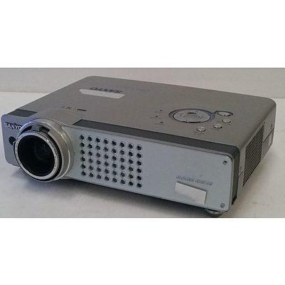 Sanyo PLC-XU55 3LCD Portable Projector