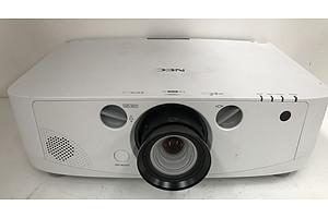 NEC NP-PA550W WXGA LCD Projector