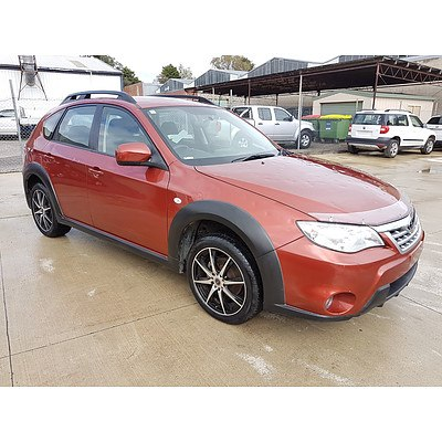 2/2011 Subaru Impreza XV (AWD) MY11 5d Hatchback Orange 2.0L