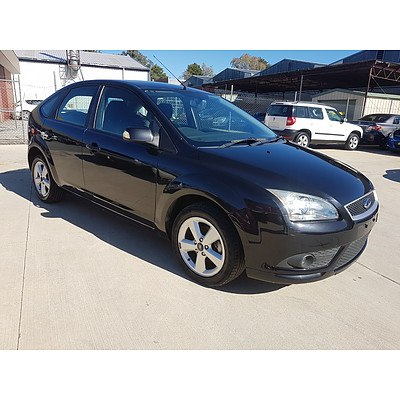 6/2008 Ford Focus LX LT 08 UPGRADE 4d Sedan Black 2.0L