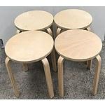 Four Ikea Stools