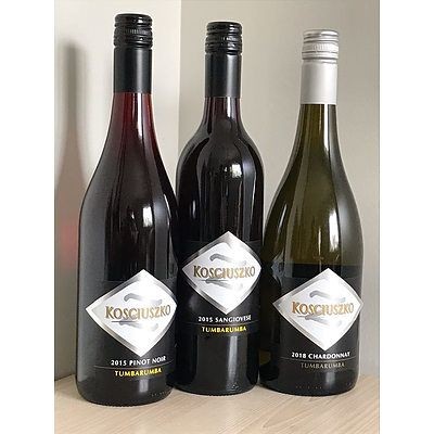 Kosciusko Wines - Mixed Dozen