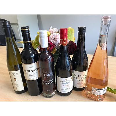 Mixed Wine - Six Pack (Various)  II