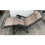 Collapsible Sun Chairs -Lot Of Two