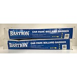 Two Baston Car Park Folding Bollards