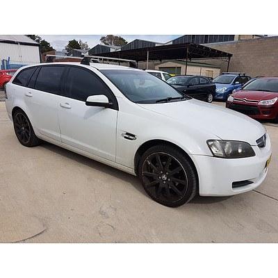 8/2008 Holden Commodore Omega VE 4d Sportwagon White 3.6L