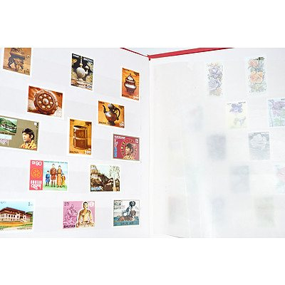 Bhutan Stamp Collection from 1970-1995