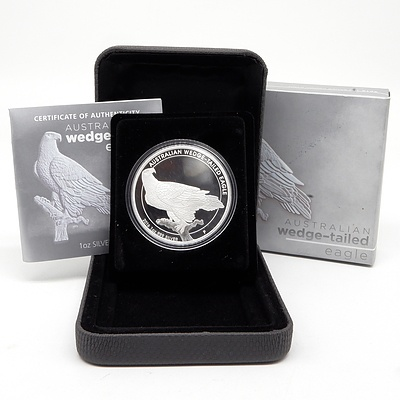 2016 $1 Australian .999 Silver Wedge-Tailed Eagle 1oz Proof Coin