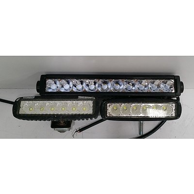 LED Light Bar Lot Of Three