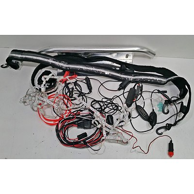 Bulk Lot Of LED Strips, Cords And Small Nudge Bar