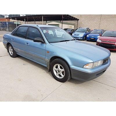 12/1994 Mitsubishi Magna Executive TS 4d Sedan Blue 2.6L