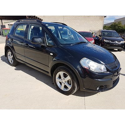 2/2010 Suzuki Sx4 AWD GY MY10 5d Hatchback Black 2.0L