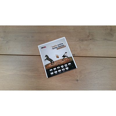 First Class Wood Flooring Co. Ochre Oak Laminate Flooring - 18.2028 Square Meters - Brand New