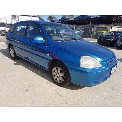 1/2004 Kia Rio  BC 5d Hatchback Blue 1.5L