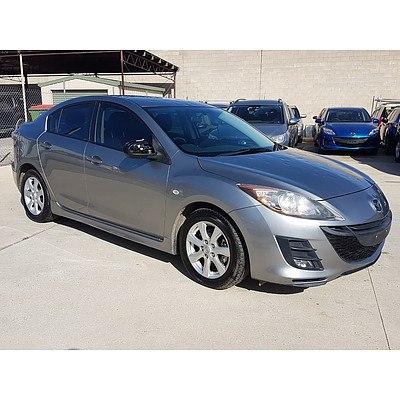 3/2010 Mazda Mazda3 Diesel BL 10 UPGRADE 4d Sedan Grey 2.2L