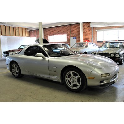 1/1992 Mazda Rx7 TWIN Turbo  2d Coupe Silver 1.3L