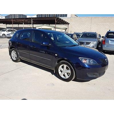 12/2008 Mazda Mazda3 NEO Sport BK MY08 5d Hatchback Blue 2.0L