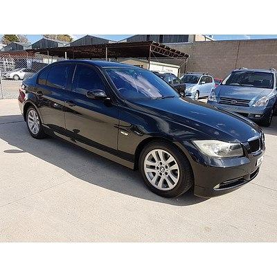 10/2005 Bmw 3 20i Executive E90 4d Sedan Black 2.0L