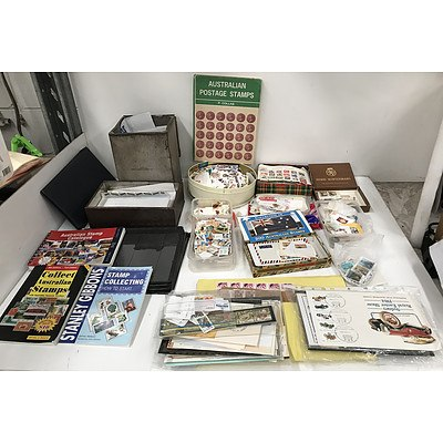 Large Collection Of Stamps