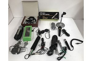 Assorted Recording and Audio Equipment