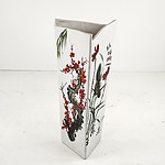Large Chinese Pottery Hand Painted Vase