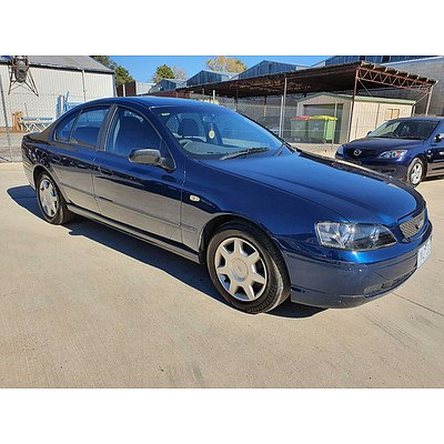 10/2002 Ford Falcon XT BA 4d Sedan Blue 4.0L