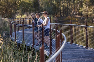 Ranger Guided Experience at Tidbinbilla Nature Reserve
