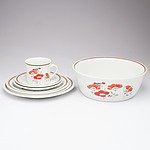 Royal Doulton Ironstone 49 Piece Dinner Service in Field Flower Pattern