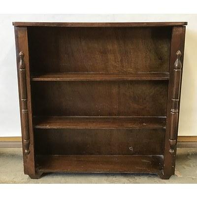 Vintage Open Bookshelf