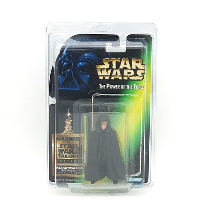 Kenner 1997 Star Wars The Power of the Force Luke Skywalker Jedi Knight - Special Edition for Return of the Jedi March 7 1997
