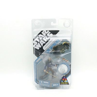 Hasbro 2007 Star Wars Concept Luke Skywalker with Collector Coin, New Old Stock