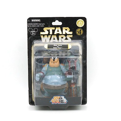 Hasbro 2010 Star Wars Star Tours Bad Pete as Boba Fett, New Old Stock