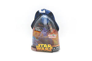 Hasbro 2005 Star Wars Revenge of the Sith Holographic Yoda, Toys R Us Exclusive, New Old Stock