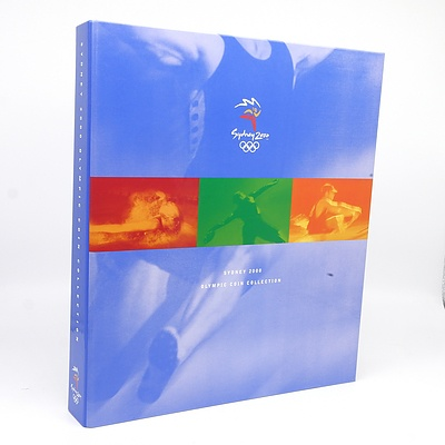 Sydney 2000 Olympic Coin Collection, Complete