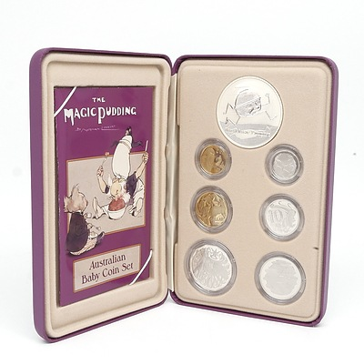 2006 Australian Baby Coin Set - The Magic Pudding