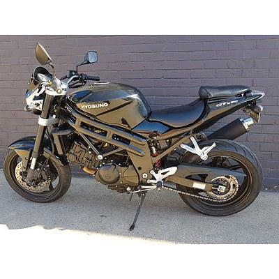 07/2010 Hyosung GT650 Comet 650cc Motor Cycle