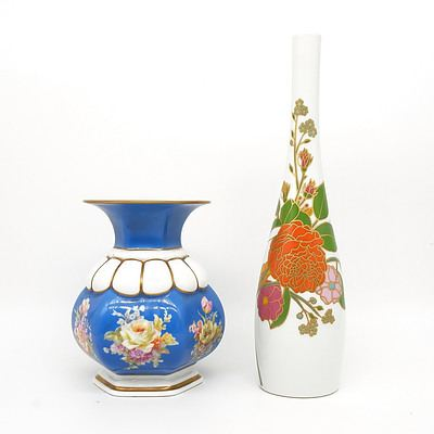 Rosenthal Studioline Stem Vase and Another Rosenthal  Vase