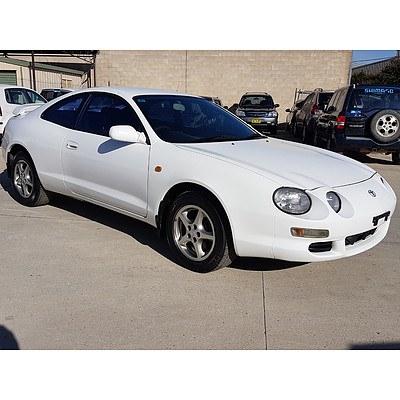 11/1995 Toyota Celica SX  2d Liftback White 2.2L