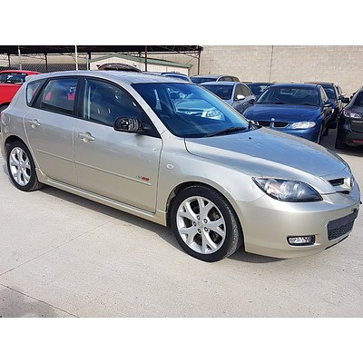 8/2007 Mazda Mazda3 SP23 BK MY06 UPGRADE 5d Hatchback Silver 2.3L
