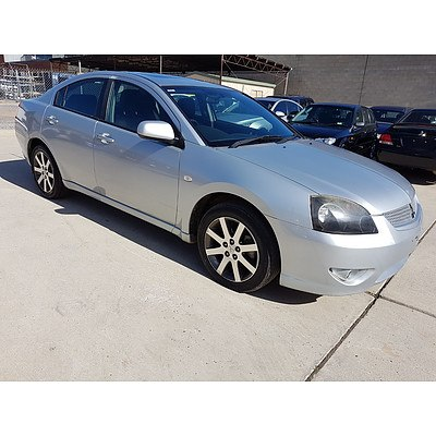 3/2008 Mitsubishi 380 Platinum Edition DB SERIES III 4d Sedan Silver 3.8L