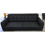 Low Lying Click-Clack Style Sofa Bed