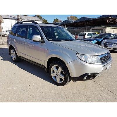 8/2009 Subaru Forester XS Premium MY09 4d Wagon Silver 2.5L
